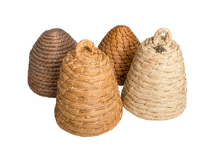 Vintage Collection of Raffia Beehives