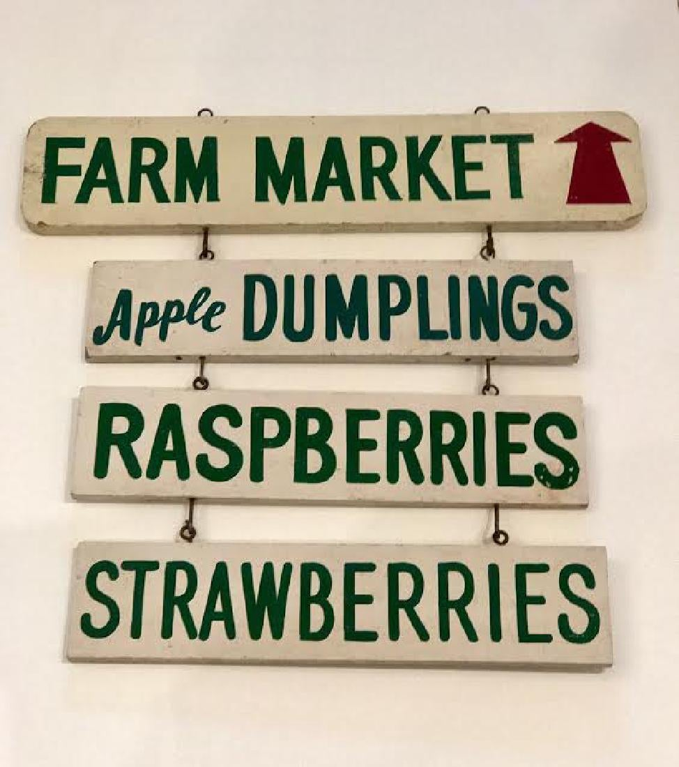 Vintage Farm Stand Sign