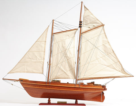 America Cup Racing Yacht Fully Assembled Model
