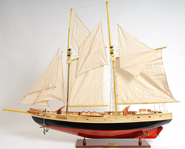 Bluenose II Painted Yacht Model