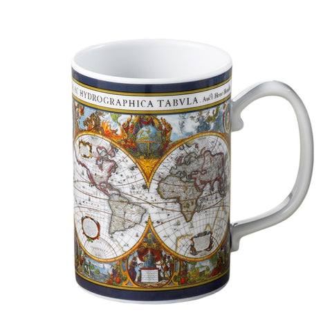 World Map Hondius Mug