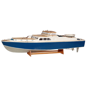 Large Cabin Cruiser Boat Model