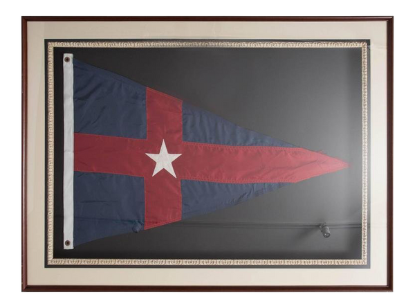 New York Yacht Club Framed Burgee
