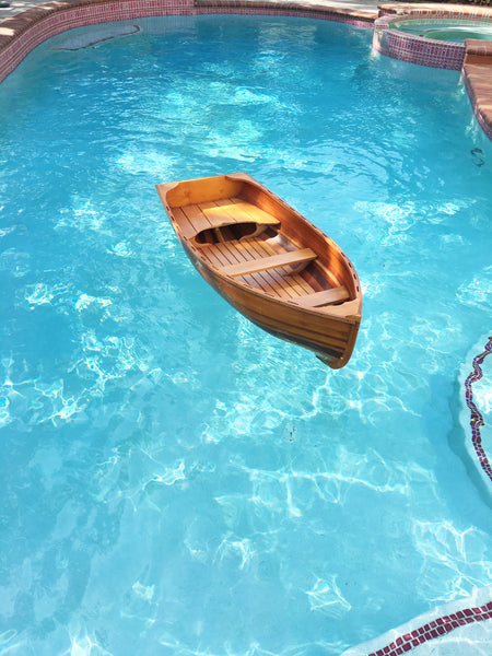 Whitehall Dinghy Row Boat Model, 5ft