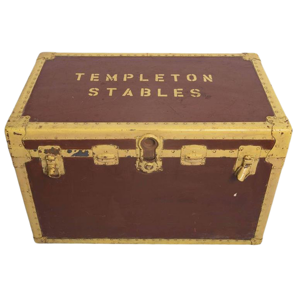 "Stable Tack Box From the ""Templeton Estate"""