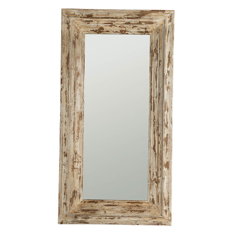 Rustic Floor Mirror