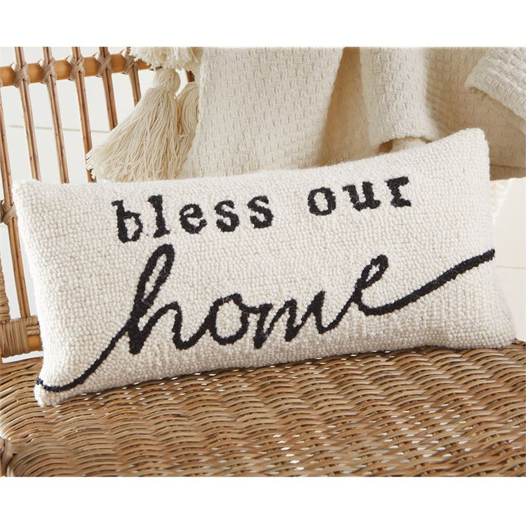 Bless Our Home Hook Pillow