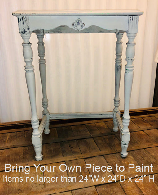 Bring Your Own Piece, Fri, Feb 22, 9:30-Noon at The Painted Sofa