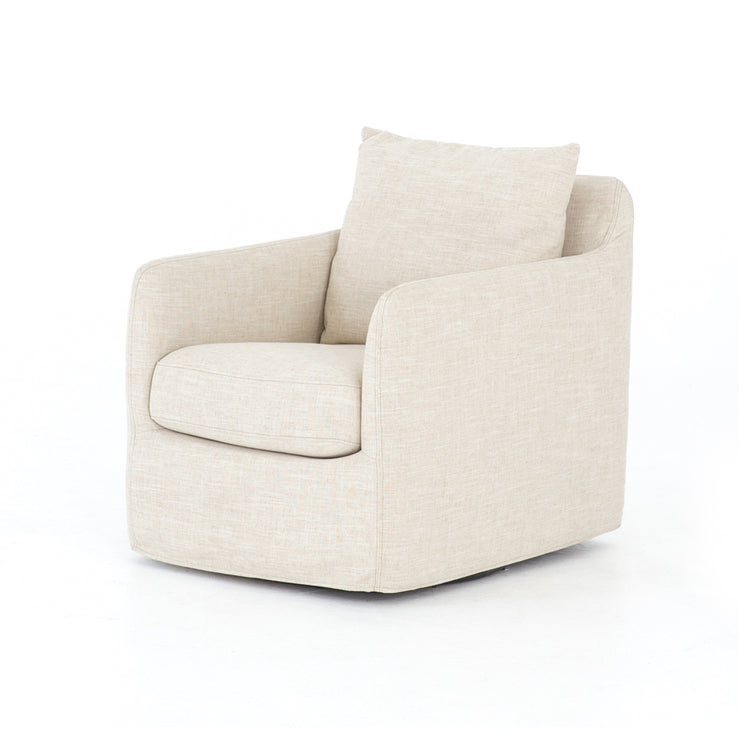 Ivory Swivel Chair