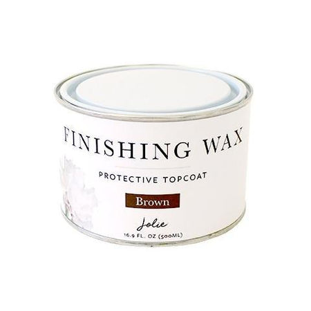 Brown Jolie Finishing Wax Large