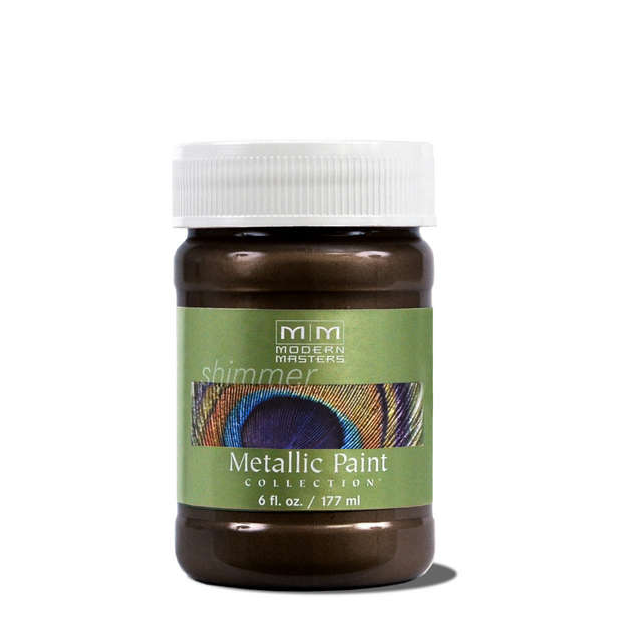 Metallic Paint - English Brown - 6 ounce