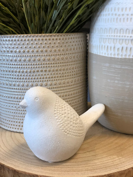 Ceramic Bird Statuary