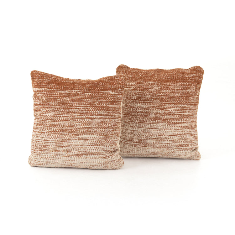 Tawny Ombre Pillows Set of 2