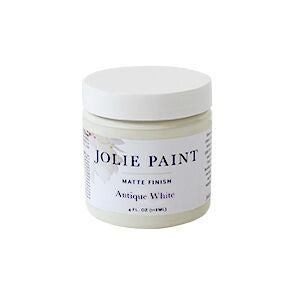 Antique White 4 oz. Sample Pot Jolie Paint
