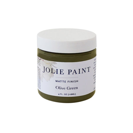 Olive Green  4 oz. Sample Pot Jolie Paint