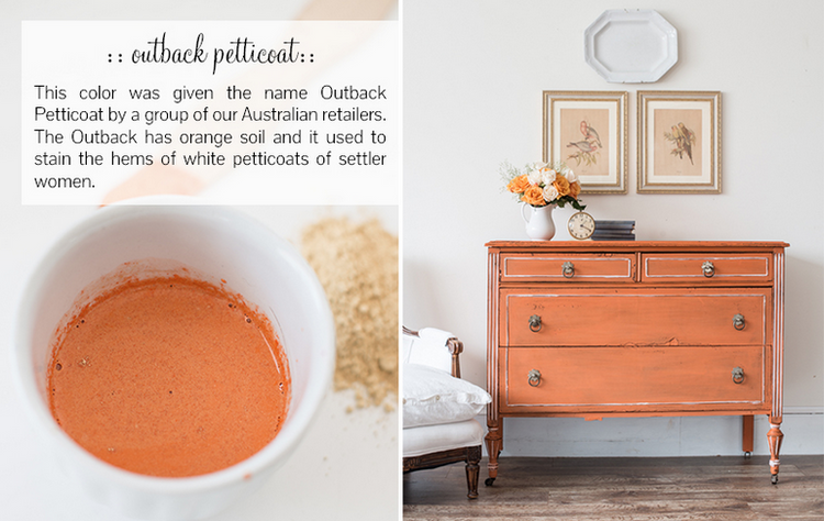 Outback Petticoat Milk Paint