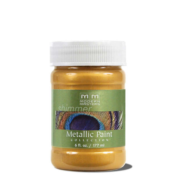 Metallic Paint - Pale Gold - 6 ounce