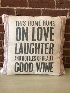 Really Good Wine Pillow