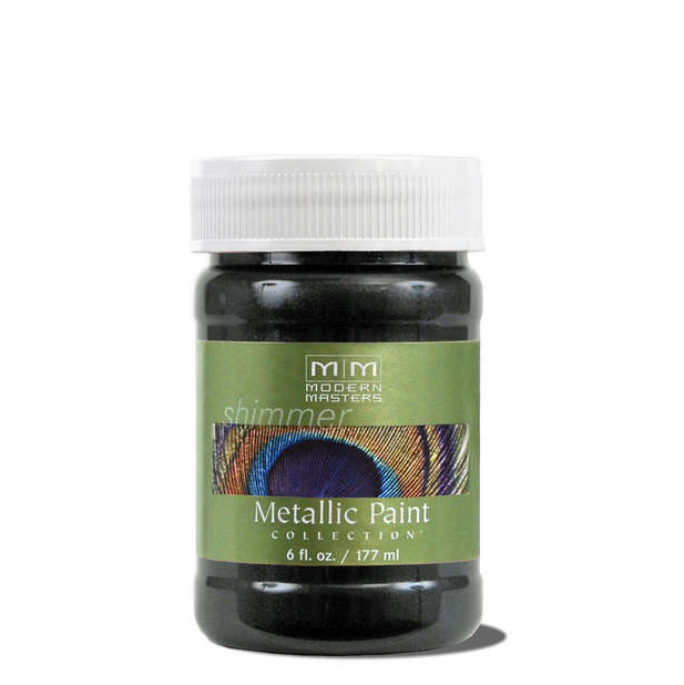 Metallic Paint - Black Pearl - 6 ounce