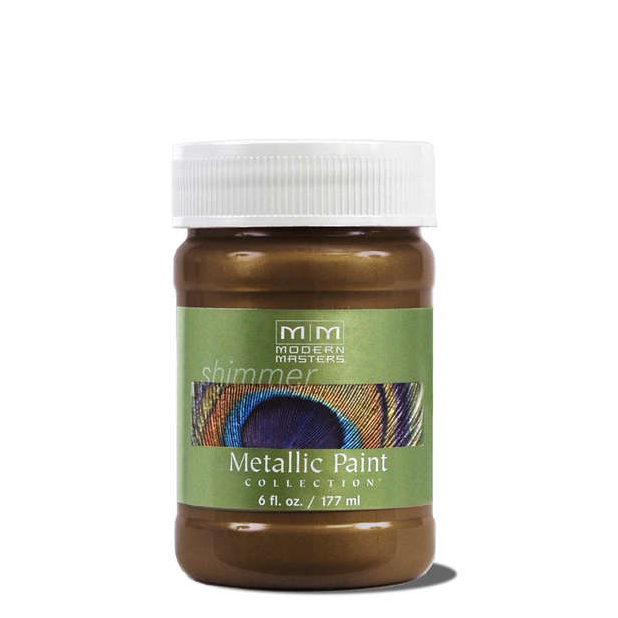 Metallic Paint - Statuary Bronze - 6 ounce