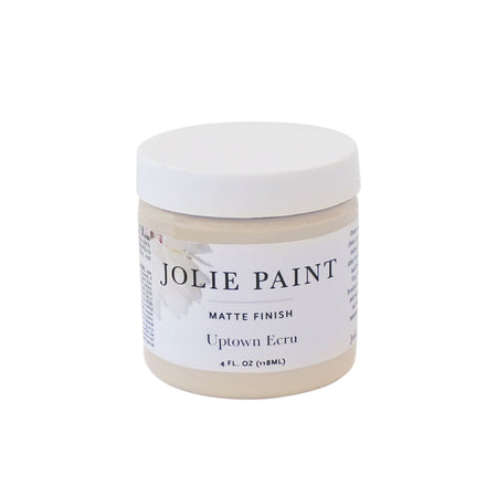 Uptown Ecru  4 oz. Sample Pot Jolie Paint