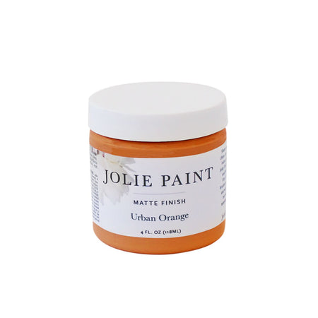 Urban Orange  4 oz. Sample Pot Jolie Paint