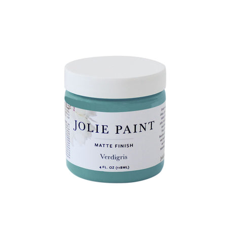 Verdigris  4 oz. Sample Pot Jolie Paint