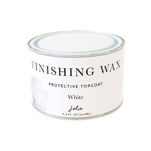 White Jolie Finishing Wax Large