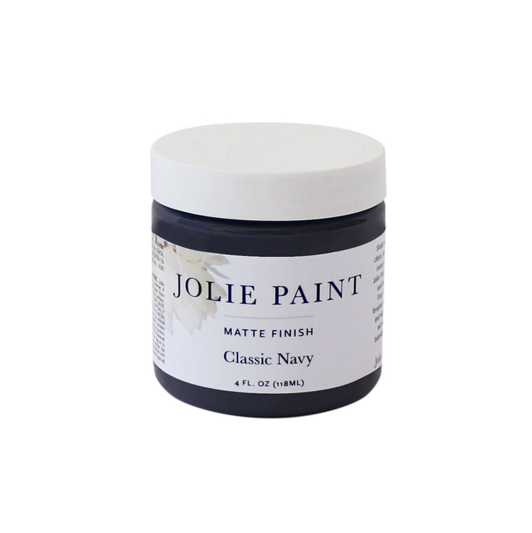 Classic Navy 4 oz. Sample Pot Jolie Paint