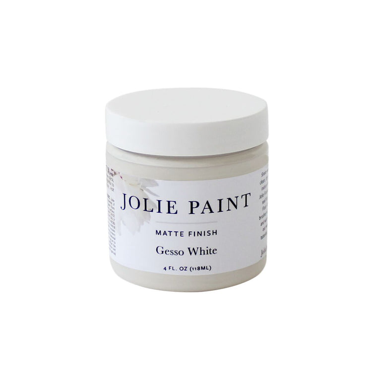 Gesso  4 oz. Sample Pot Jolie Paint