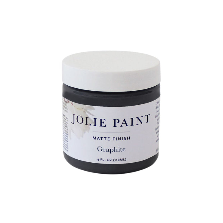 Graphite  4 oz. Sample Pot Jolie Paint