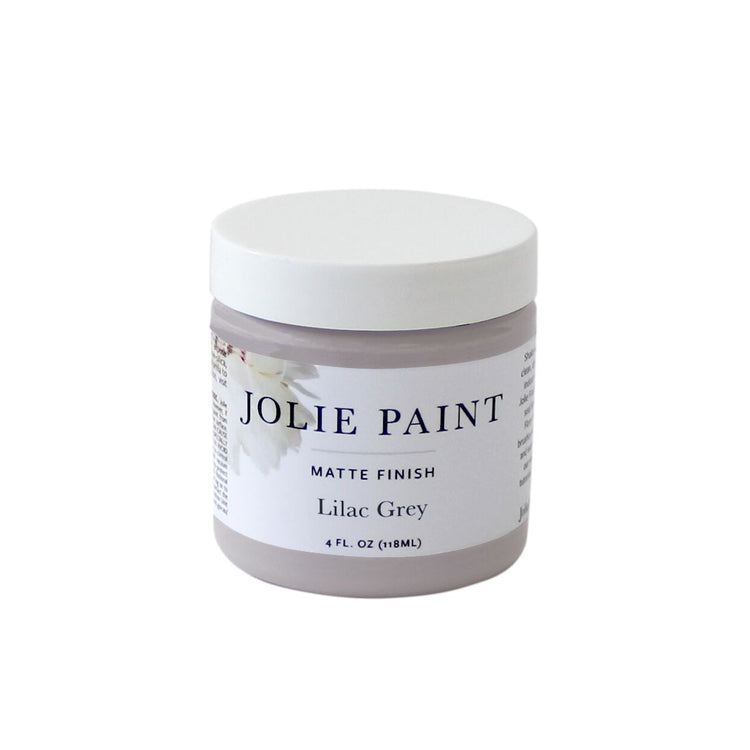 Lilac Grey 4 oz. Sample Pot Jolie Paint