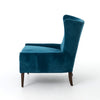 Bayoux Blue Wing Chair