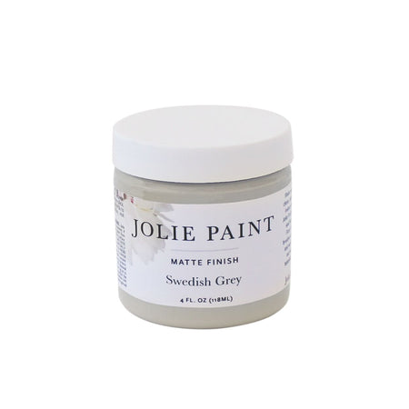 Swedish Grey  4 oz. Sample Pot Jolie Paint