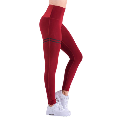 High Waist Fitness Leggings New Slim Sportswear Jeggings Activewear Women Pants Fashion Solid Color Workout Legging