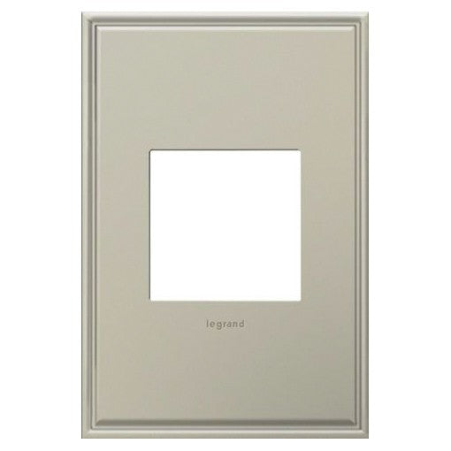 Adorne Antique Nickel 1 Gang Wall Plate
