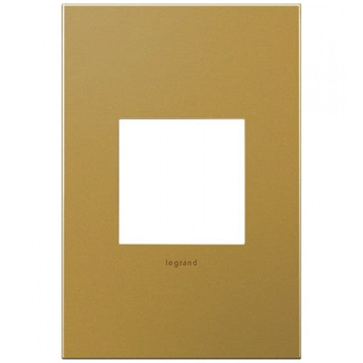 Adorne Satin Bronze 1 Gang Wall Plate