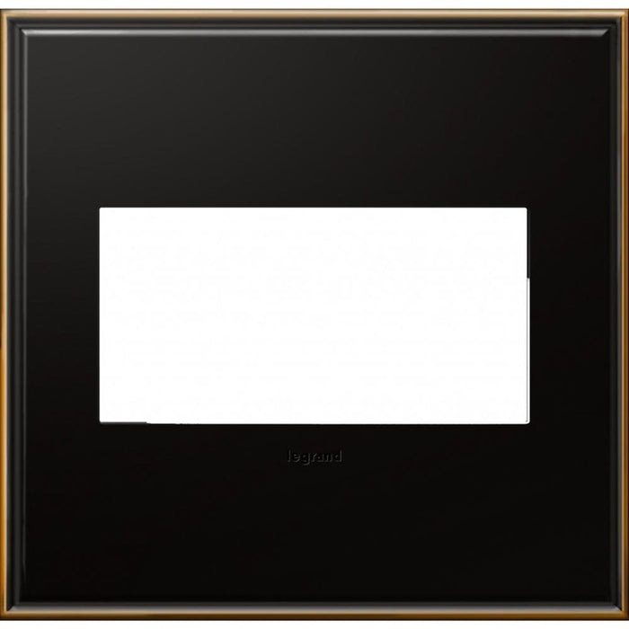 Adorne Oil Rubbed Bronze 2 Gang Wall Plate