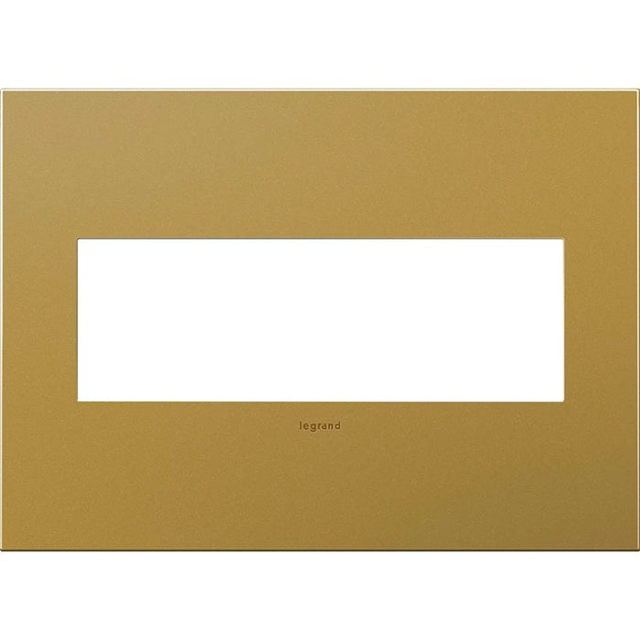 Adorne Satin Bronze 3 Gang Wall Plate