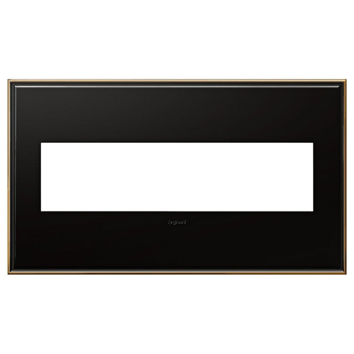 Adorne Oil Rubbed Bronze 4 Gang Wall Plate