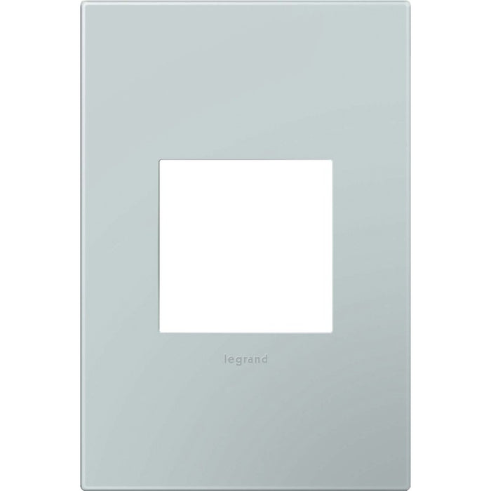 Adorne Pale Blue 1 Gang Wall Plate