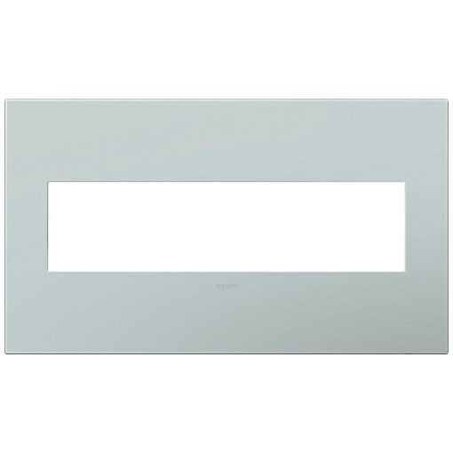 Adorne Pale Blue 4 Gang Wall Plate