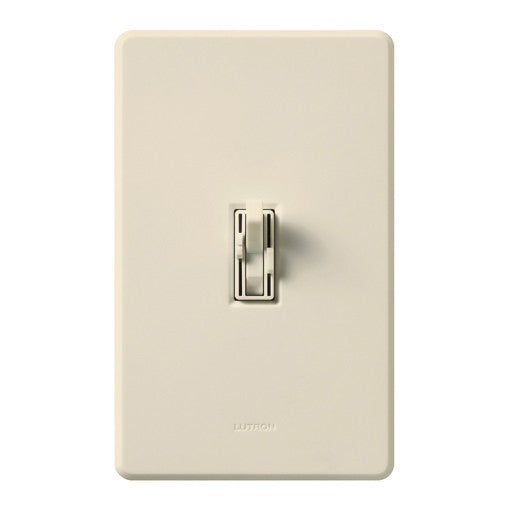 Lutron Ariadni Single-Pole 3-Speed Fan Control with Dimmer - Light Almond
