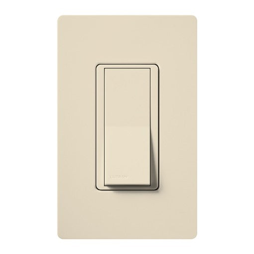 Lutron Claro Single-Pole Switch - 15A - Light Almond