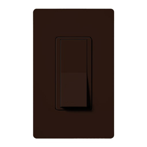 Lutron Claro 3-Way Switch - 15A - Brown