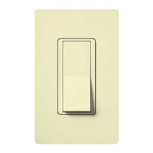 Lutron Claro 4-Way Switch with Nightlight - 15A - Almond