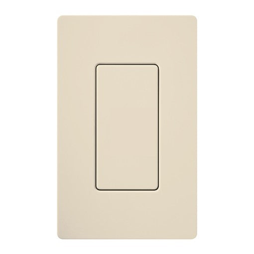 Lutron Claro Blank Insert - Light Almond