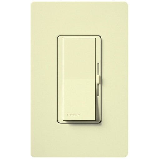 Lutron Diva CFL & LED Dimmer - 250W Max - Almond