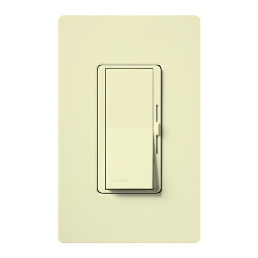 Lutron Diva Electronic Low Voltage Single-Pole Dimmer - 300W Max - Almond