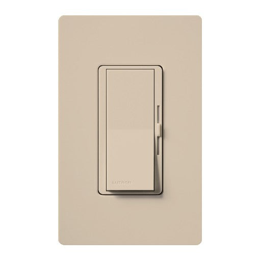 Lutron Diva Dimmer - Single-Pole - 1000W Max - Taupe